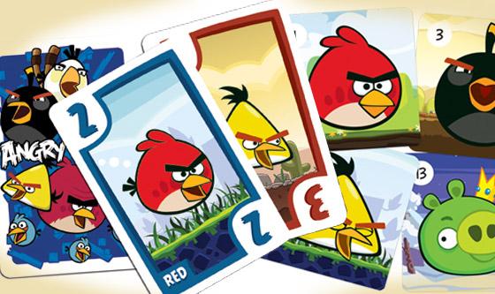 Novidade chegaram os baralhos do angry birds mural do for Angry bird mural