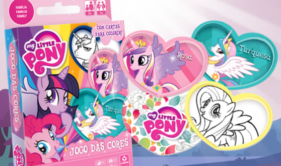 jogo das cores my little pony